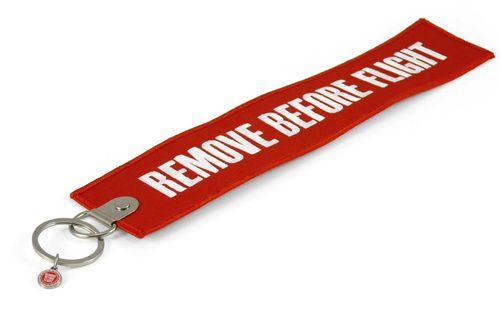 "Key Chain "" REMOVE BEFORE FLIGHT "" XXL incl. keyring"